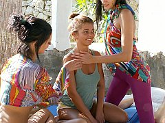 fresh lesbian teen