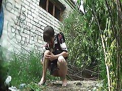 outdoor pissing