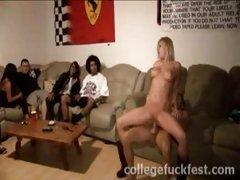 college drunk
