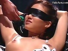 blindfolded bondage