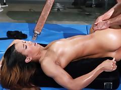 ass fucking gym