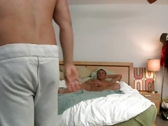 dad from behind