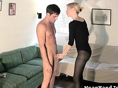 handjob sensual