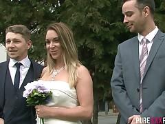 bride hairy