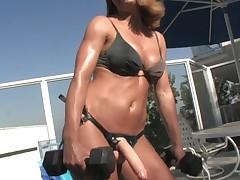 bikini dildo