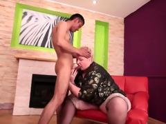 bbw mature anal